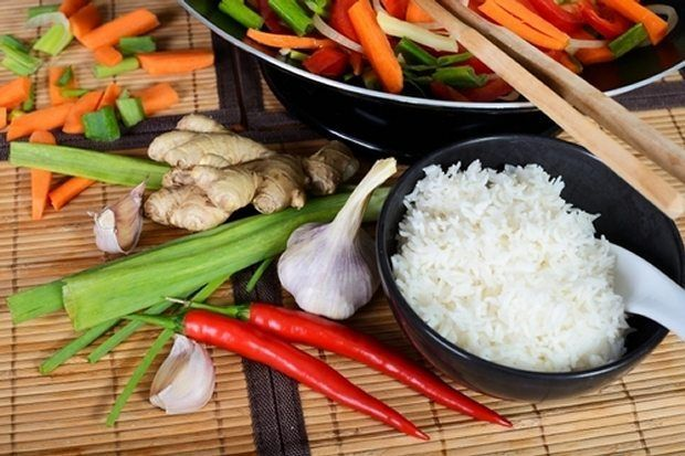 dieta azjatycka
