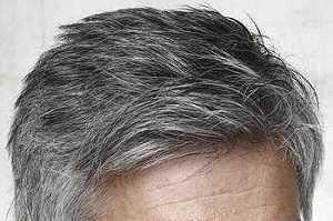 Grey Blocker sur les cheveux gris