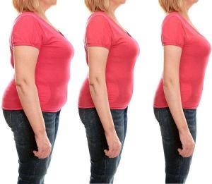 Fortschritt einer Frau mit Bioveliss Tabs